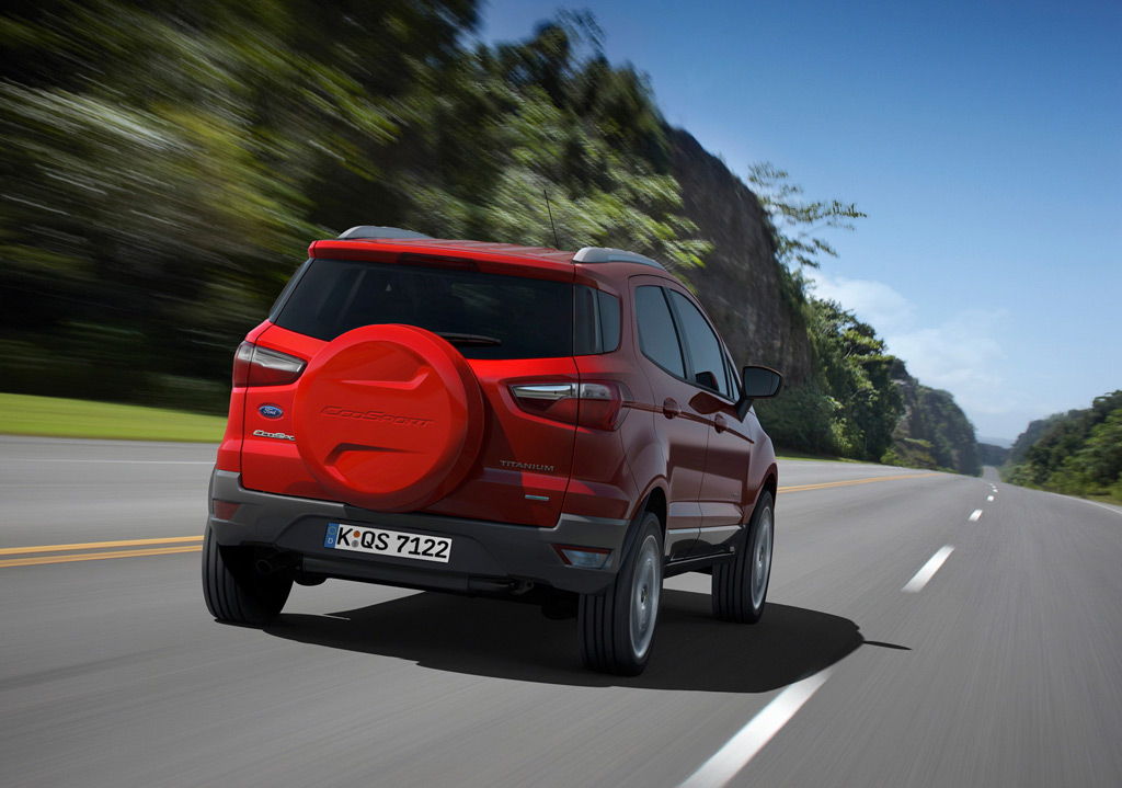 Ford Ecosport Heck