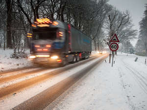 Lkw Winter