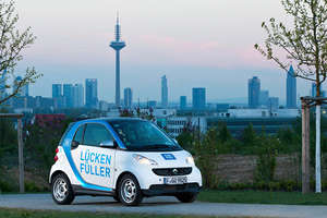 Car2go in Frankfurt