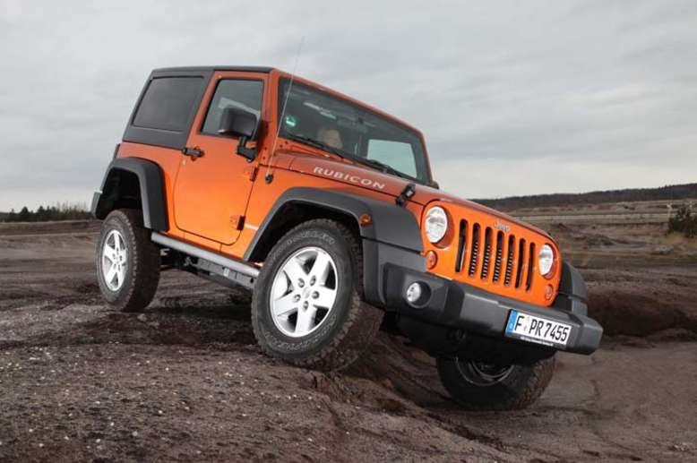 Wrangler, 2007, Foto: © 2012 Chrysler Group LLC