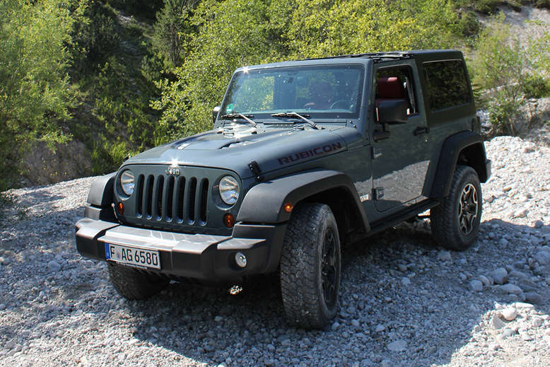 Jeep Wrangler, Rubicon, 2013, Foto: Jeep