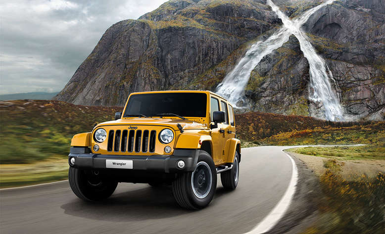 Jeep Wrangler X, Frontansicht, 2015, Foto: Jeep
