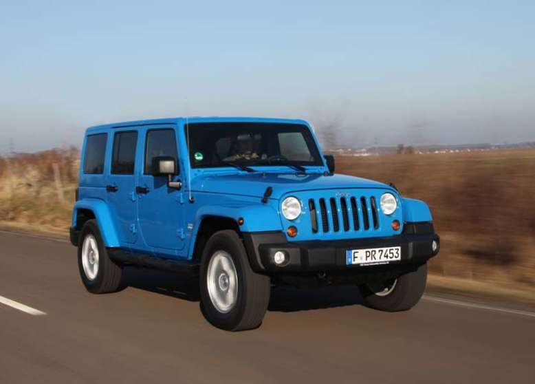 Wrangler Unlimited, 2007, Foto: © 2012 Chrysler Group LLC
