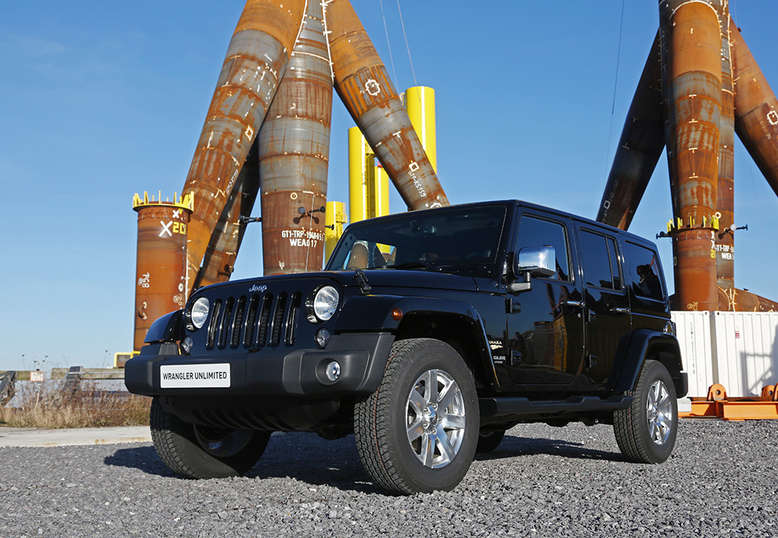 Jeep Wrangler Unlimited, Indian Summer, Frontansicht, 2013, Foto: Jeep