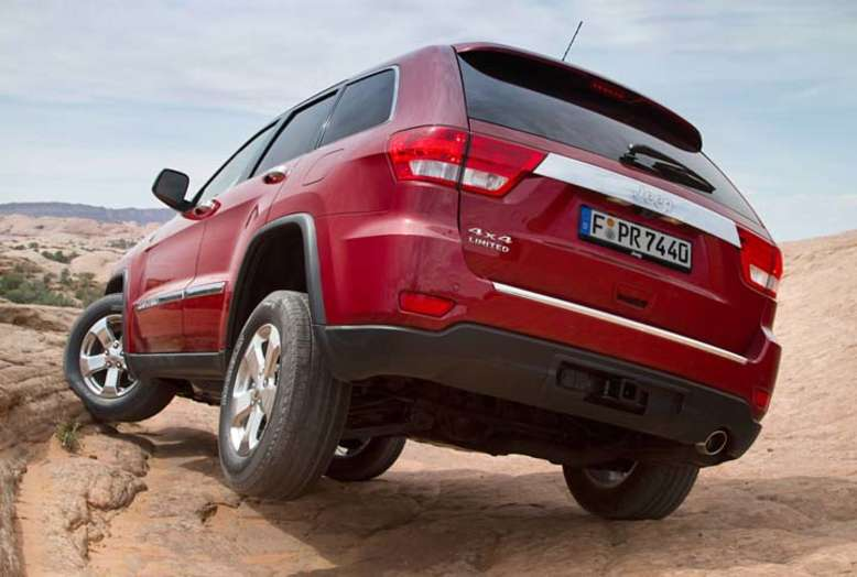 Grand Cherokee, 2010, Foto: © 2012 Chrysler Group LLC