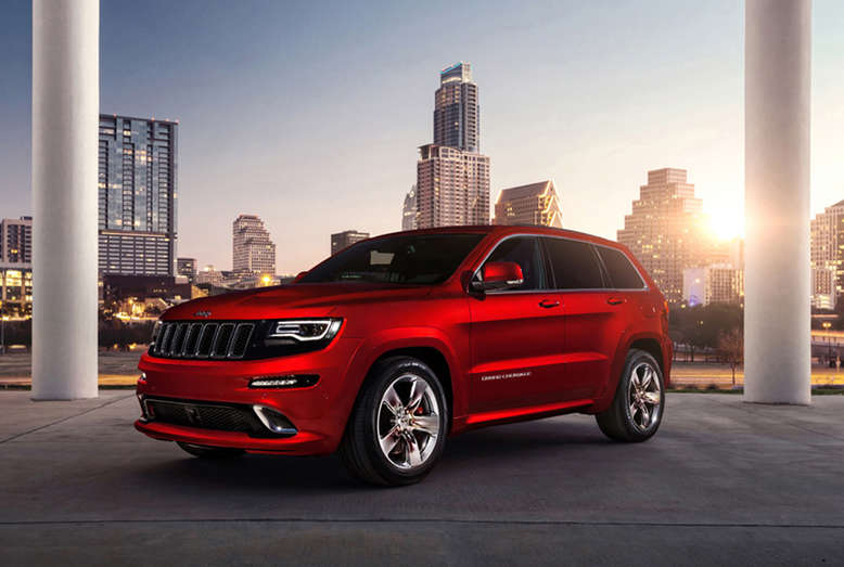 Jeep Grand Cherokee SRT, 2013, Foto: Jeep