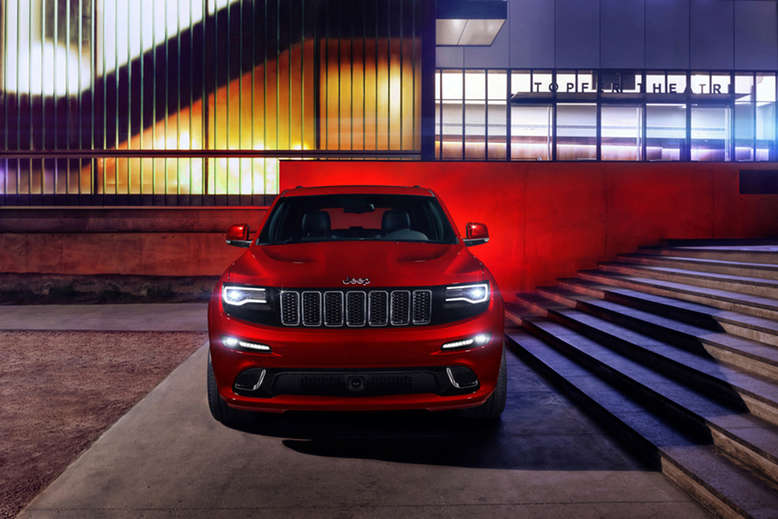 Jeep Grand Cherokee SRT, Frontansicht, 2013, Foto: Jeep