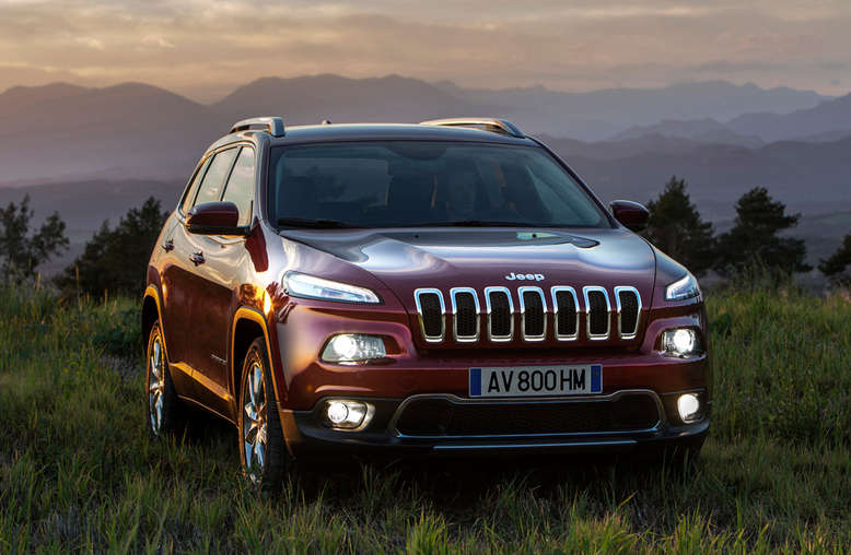 Jeep Cherokee Limited, Frontansicht, 2014, Foto: Chrysler Group LLC