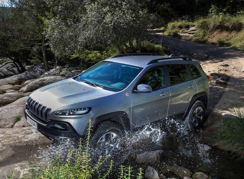 Jeep Cherokee Trailhawk, Seitenansicht, 2014, Foto: Chrysler Group LLC