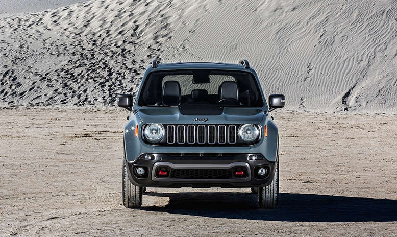 Jeep Renegade Trailhawk, Frontansicht, 2014, Foto: Jeep