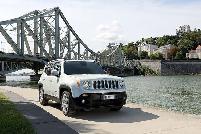 Jeep Renegade Limited, Frontansicht, 2015, Foto: Jeep