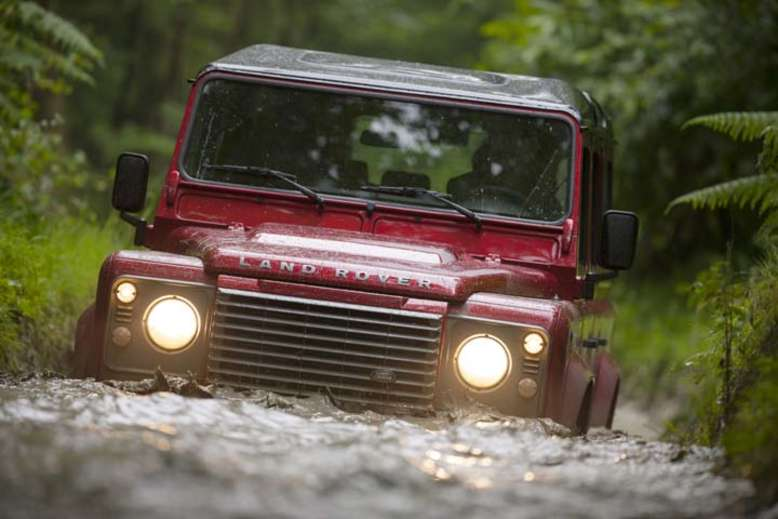 Defender, 2007, Foto: © 2012 Jaguar Land Rover