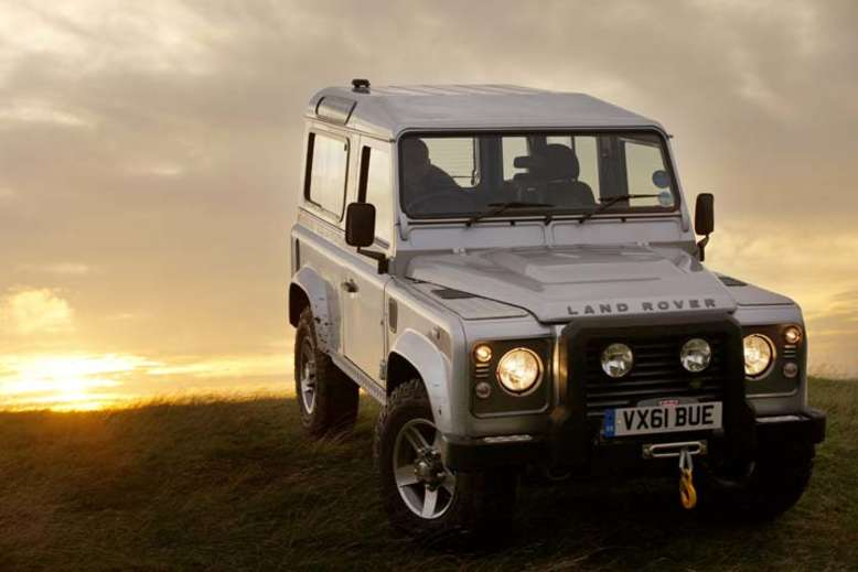 Defender 90, 2007, Foto: © 2012 Jaguar Land Rover