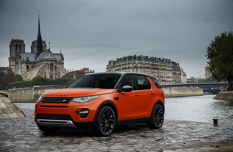 Land Rover Discovery Sport, 2015, Foto: Land Rover