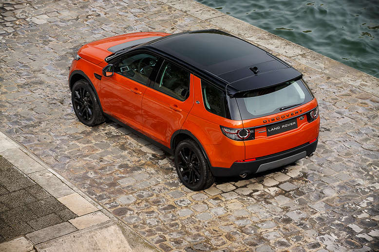 Land Rover Discovery Sport, Draufsicht, 2015, Foto: Land Rover