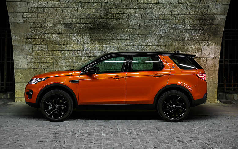 Land Rover Discovery Sport, Seitenansicht, 2015, Foto: Land Rover