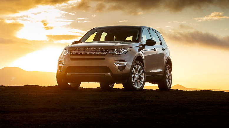 Land Rover Discovery Sport, Frontansicht, 2015, Foto: Land Rover