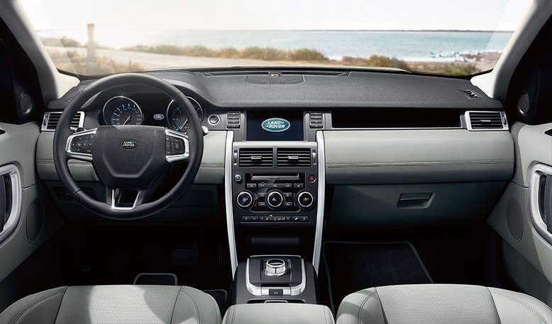Land Rover Discovery Sport, Innenansicht, Cockpit, 2015, Foto: Land Rover