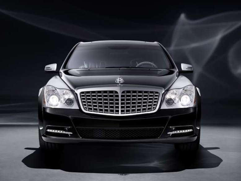Maybach 57S, Front, Foto: Daimler AG