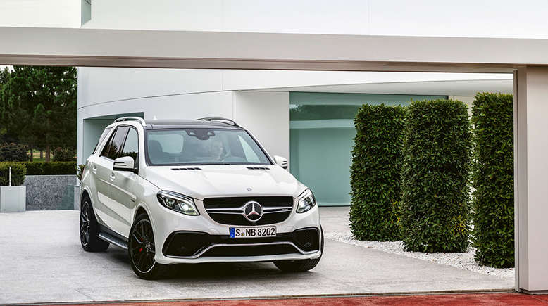 Mercedes GLE, Frontansicht, 2015, Foto: Daimler