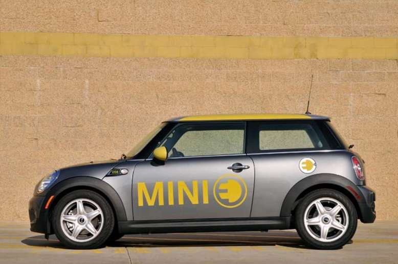 Mini E, 2008, Foto: © BMW AG