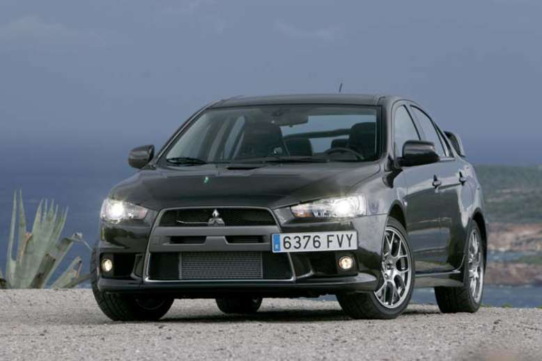 Lancer Evolution, 2008, Foto: © MITSUBISHI MOTORS Deutschland GmbH