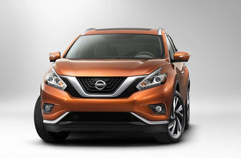 Nissan Murano, Frontansicht, 2015, Foto: Nissan