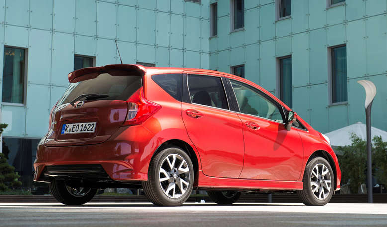 Nissan Note, Heck, 2013, Foto: Nissan