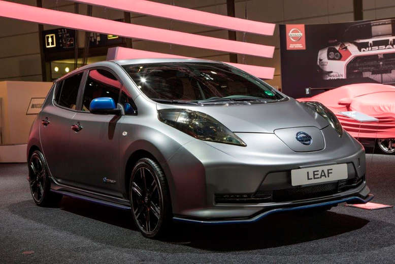 Nissan Leaf, Nismo Tuning-Kit, Frontansicht, 2014, Foto: Nissan