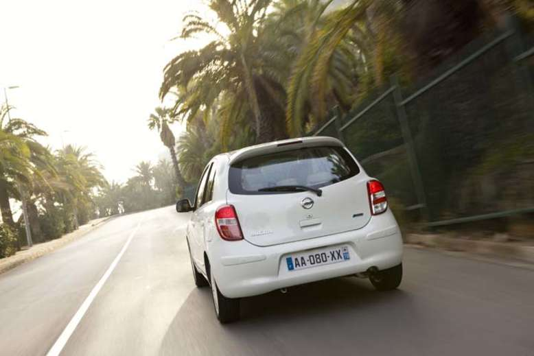 Nissan Micra, Heck, 2010, Foto: Nissan