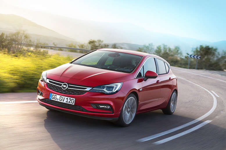 Opel Astra, Frontansicht, 2015, Foto: Opel