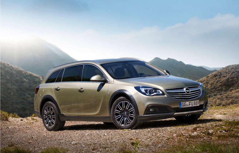 Opel Insignia, Country Tourer, Frontansicht, 2013, Foto: Opel