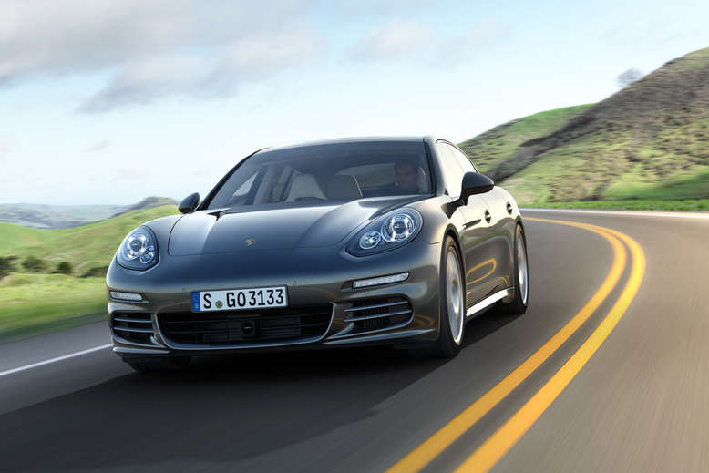 Porsche Panamera Turbo Executive, Front, 2013, Foto: Porsche