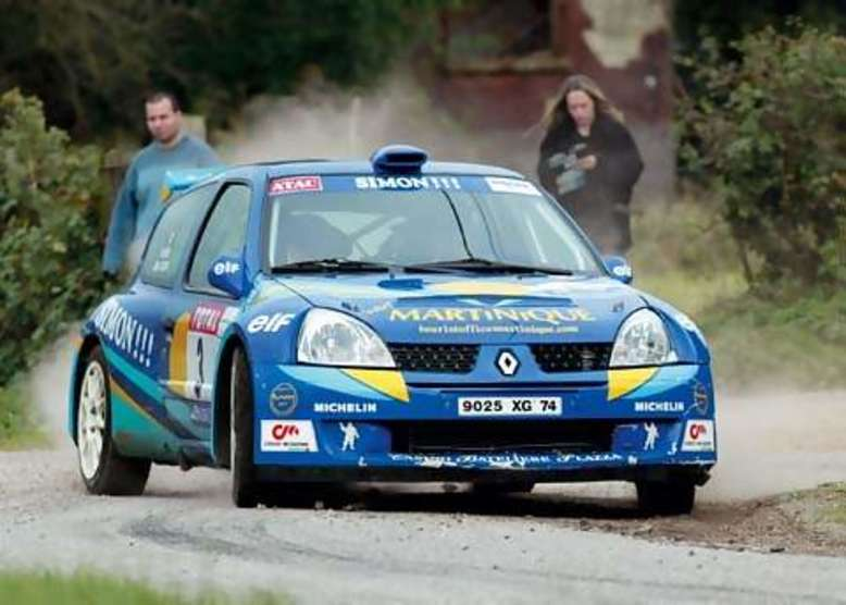 Renault Clio, Ralley, 2005, Foto: Renault