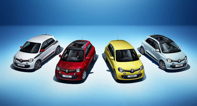 Renault Twingo, Farbauswahl, 2014, Foto: Renault