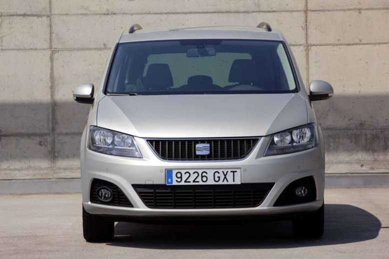 Seat Alhambra, Front, 2010, Foto: Seat