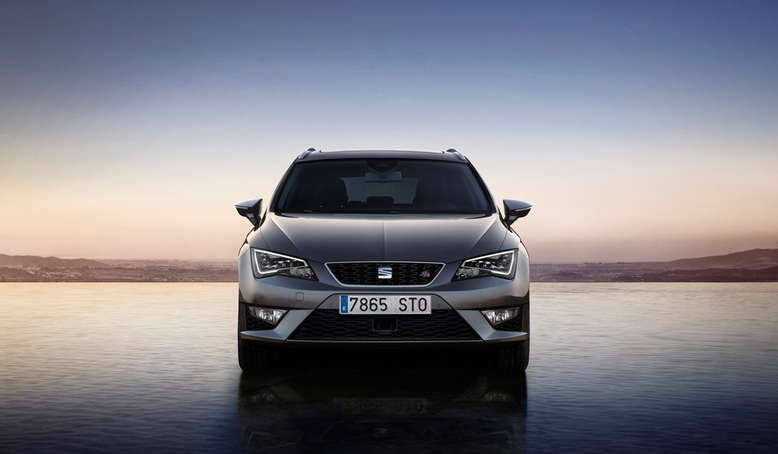 Seat Leon ST, Frontansicht, 2013, Foto: Seat
