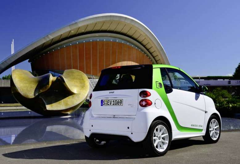 Fortwo Electric Drive, 2012, Foto: © 2012 Daimler AG
