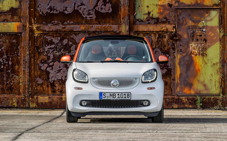 Smart Fortwo, Frontansicht, 2014, Foto: Daimler AG