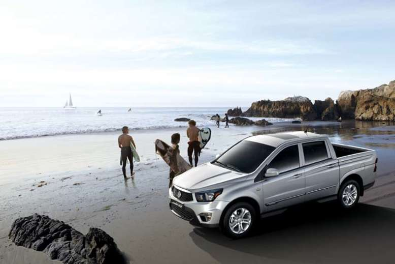 SsangYong Actyon Sports, 2011, Foto: SsangYong