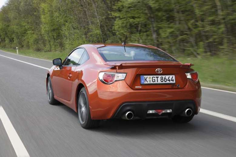 Toyota GT86, Heck, 2012, Foto: Toyota