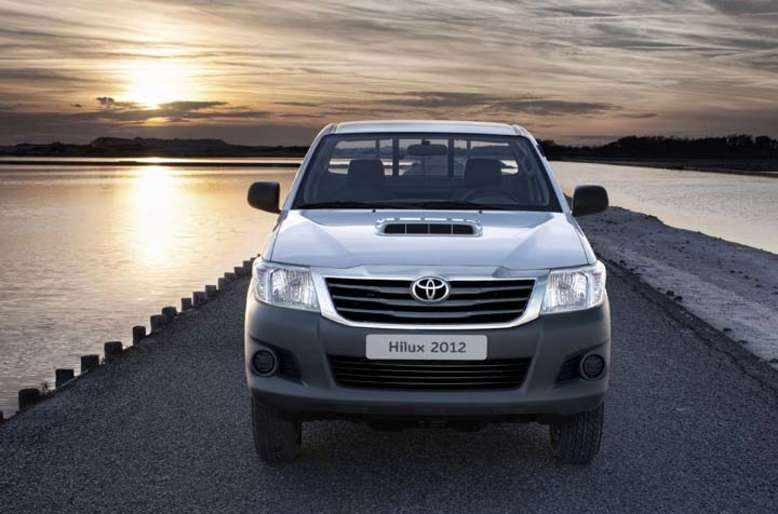 Toyota Hilux, Pick-up, Front, 2012, Foto: Toyota