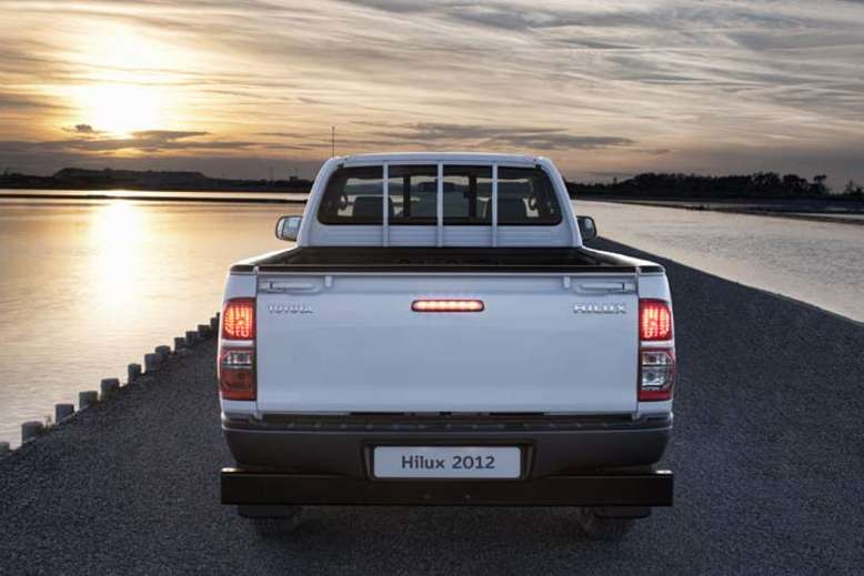 Toyota Hilux, Pick-up, Heck, 2012, Foto: Toyota