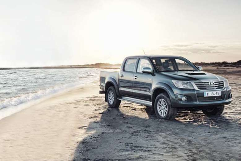 Toyota Hilux, Pick-up, 2012, Foto: Toyota