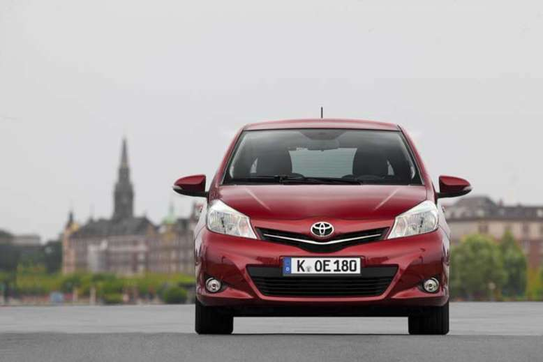 Toyota Yaris, Front, 2011, Foto: Toyota