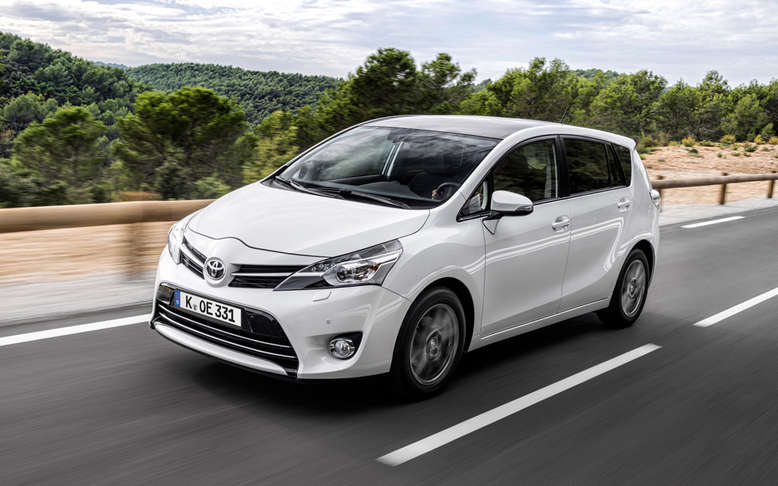 Toyota Verso, Frontansicht, 2013, Foto: Toyota