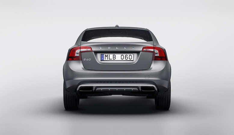 Volvo S60 Cross Country, Heckansicht, 2015, Foto: Volvo