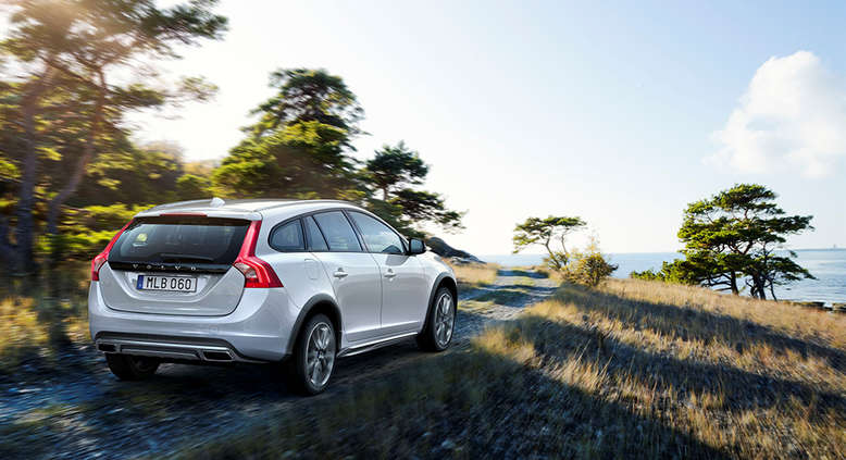 Volvo V60 Cross Country, Heckansicht, 2015, Foto: Volvo
