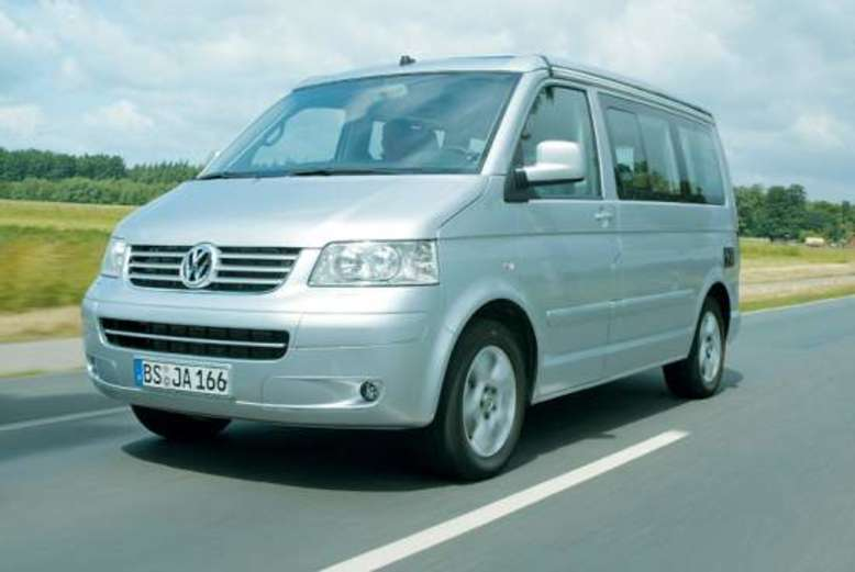 VW California, 2006, Foto: Volkswagen