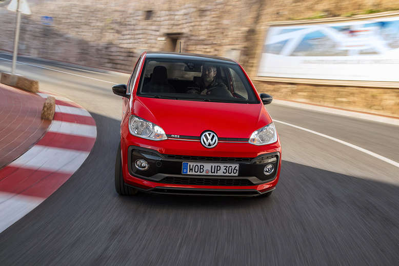 VW up!, Front